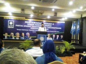 Musda 4 DPD PAN Kota Tanjungpinang batak digelar, meski sevelumnya dibuka resmi Walikota Tanjungpinang Lis Darmansyah di Hotel Comfort, Minggu (22/5)