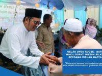 Gelar Open House, Bupati Bintan dan Wakil Silaturahmi Bersama Ribuan Masyarakat