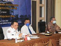 Gubernur Ansar Raker Bersama Pimpinan dan Dewan Pertimbangan UMRAH
