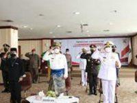 Gubernur Ansar Ikut Upacara Hari Lahir Pancasila