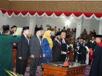 Pimpinan DPRD Kepri Periode 2019-2014 Resmi Dilantik