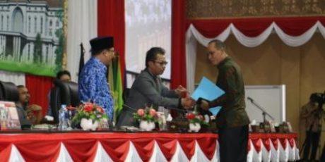 Ini Pendapat Akhir Fraksi DPRD Kepri Terhadap APBD 2019