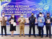 Sekda Karimun Hadiri Pelepasan Ekspor Perdana Kerupuk Ikan'