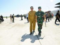 Panglima Resmikan Satuan TNI Terintegrasi di Natuna
