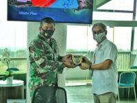 Aditya Laksamana : Terimakasih Kunjungan Danlanud RHF