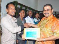 3.662 Nelayan Tradisional Karimun Dapat Asuransi Mandiri