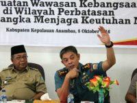 KMP Kepri Ajak Masyarakat di Daerah Perbatasan Jaga Kedaulatan NKRI