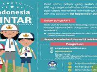Pendaftaran Kartu Indonesia Pintar Diperpanjang Hingga 30 September