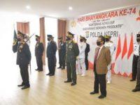 Ketua DPRD Kepri Ikut Upacara HUT Bhayangkara Ke-74