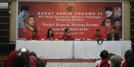PDIP Targetkan Kursi Pimpinan DPRD Karimun di 2019