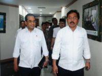 Tindaklanjuti Perintah Presiden, Nurdin Basirun Temui Tiga Menteri