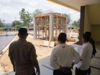 Komisi III DPRD Kepri Tinjau Proyek Sarana dan Prasarana Mako Brimob