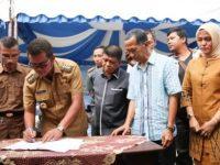 PT BMW Hibahkan Lahan 100 Hektar, Doa Masyarakat Desa Pengudang Terkabul