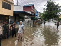 Lokasi Banjir di SPBU KM 7 Jalan Provinsi, PUPR Kepri Akan Bangun Box Culvert