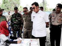 Bupati Bintan Tinjau Pelaksanaan Pilkades Serentak