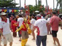 Puluhan Wisatawan Yachter Takjub Akan Pesona Alam Lingga