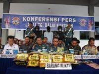 TNI AL Gagalkan Penyelundupan Sabu Seberat 21 Kg di Karimun