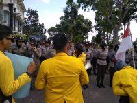 Mahasiswa Demo Kantor Walikota Tanjungpinang