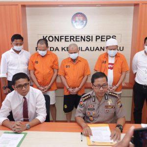 Inilah Tiga Tersangka Korupsi Proyek Monumen Bahasa Melayu