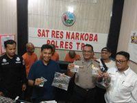 Miliki Narkoba, 4 Warga Tanjungpinang Diciduk Polisi