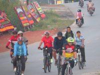 Dandim 0315 Bintan Gowes Sepeda Bersama Prajurit