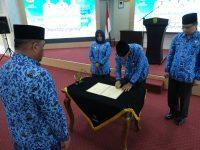 Kepala OPD se Kota Tanjungpinang Teken Perjanjian Dengan Walikota