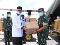 Dapat Bantuan 150 APD dan 5000 Masker, Syahrul : Akan Dibagikan ke RS dan Puskesmas