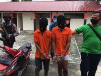 2 Pelaku Pencuri Puluhan Tabung Gas di Desa Busung Ditangkap