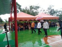 Hujan Petir dan Gelombang Tak Surutkan Semangat Isdianto Menyapa Warga