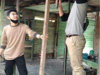 Tim RPL Karimun Rehab Rumah Mbah Cartem