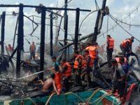 KPP Natuna Cari Korban Kapal Terbakar di Perairan Tanjung Pala