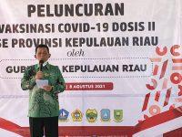Gubernur Kepri Luncurkan Vaksin Dosis II Se-Kepri