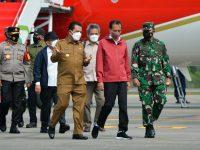 Jokowi Tiba Di Batam, Agenda Nanam Mangrove Hingga Pelepasan Elang Laut