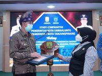 Kota Sawahlunto Study Comparative ke Kota Tanjungpinang