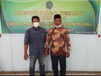 Rusdi Terpilih Jadi Ketua PAMERAL Kecamatan Meral