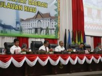 DPRD Gelar Paripurna Pandum Fraksi Terhadap Nota Keuangan dan Ranperda APBD-P 2018