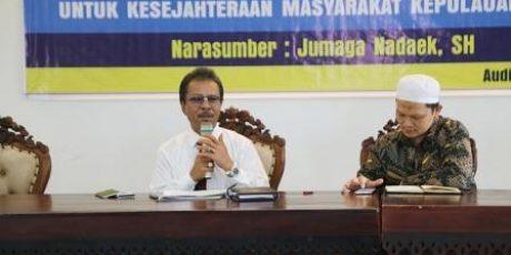 Jumaga Nadeak Berikan Materi Kuliah Umum di UMRAH