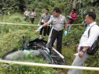 Sesosok Mayat Ditemukan Tergeletak Bersama Sepeda Motor
