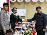 DPRD Gelar Paripurna Pendapat Fraksi Tentang Nota Keuangan APBD Perubahan 2018