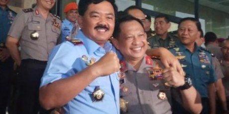 Panglima TNI Izin ke Kapolri salat di Polres Saat Kunjungan ke Daerah