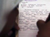 Siswa Natuna Tulis Surat untuk Bupati