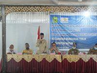 Wakil Ketua II DPRD Natuna Hadiri Musrenbang Kecamatan Bunguran Timur