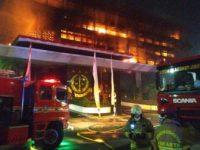 Akibat Gedung Kejagung Kebakaran, 50 Tahanan Dievakuasi