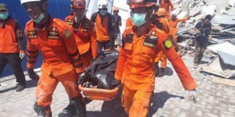 Korban Tewas Gempa dan Tsunami di Palu 832 Orang