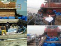 Lanal Karimun Amankan Kapal Penyelundup Barang Ilegal Dari Malaysia