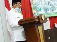 Isdianto Sampaikan Jawaban Pandum Fraksi DPRD Kepri