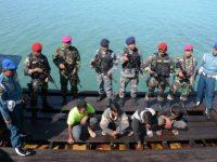 Lagi, TNI AL Tanjungpinang Gagalkan Penyelundupan 30 Ton BBM HSD Ilegal